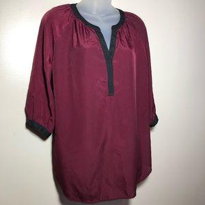 Medium Motherhood Maternity 3/4 Sleeve Blouse Top